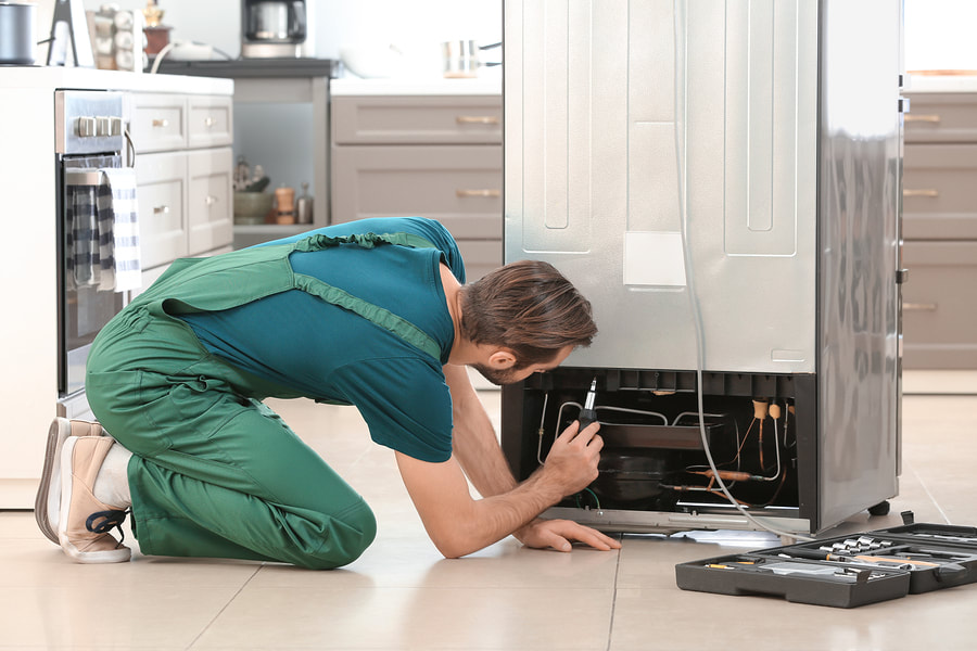 Repairing Refrigerator by our expert